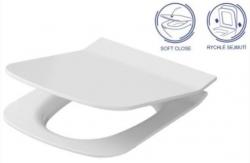 AKCE/SET/VIEGA - SET MONO modul WC čelní ovládání + ovládací tlačítko BÍLÉ + WC OPOCZNO METROPOLITAN CLEANON + SEDÁTKO (V606732BI ME1), fotografie 16/8