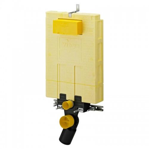 AKCE/SET/VIEGA - MONO modul WC čelní ovládání + ovládací tlačítko BÍLÉ + WC CERSANIT MITO + SEDÁTKO (V606732BI MI1), fotografie 6/11