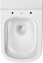 AKCE/SET/GEBERIT - Duofix pro závěsné WC 111.300.00.5 bez ovládací desky + WC CERSANIT Caspia NEW CLEANON + Sedátko (111.300.00.5 CP1), fotografie 4/8