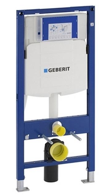 AKCE/SET/GEBERIT - Duofix pro závěsné WC 111.300.00.5 bez ovládací desky + WC CERSANIT Caspia NEW CLEANON + Sedátko (111.300.00.5 CP1), fotografie 12/8