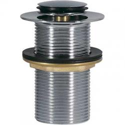 TRES - Umyvadlový ventil bez přepaduzátka O37mm CLICK-CLACK (13454070)