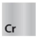 TRES - Čtvercová kovová rozetavnější rozměry 65x65, vnitřní rozměry O32, výška 13mm (913474410), fotografie 4/2