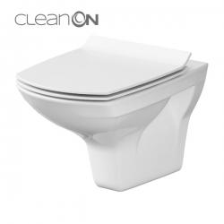 AKCE/SET/VIEGA - Eko PLUS modul do jádra WC čelní ovládání  SET CHROM + ovládací tlačítko CHROM + WC CERSANIT CARINA CLEANON + SEDÁTKO (V622176CR CA3), fotografie 2/10