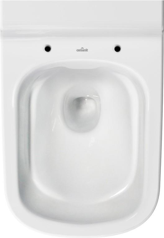 AKCE/SET/VIEGA - Eko PLUS modul do jádra WC čelní ovládání  SET CHROM + ovládací tlačítko CHROM + WC CERSANIT CREA OVÁL CLEANON + SEDÁTKO (V622176CR CR1), fotografie 4/10
