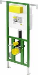 AKCE/SET/VIEGA - Eko PLUS modul do jádra WC čelní ovládání  SET CHROM + ovládací tlačítko CHROM + WC CERSANIT CREA ČTVEREC CLEANON + SEDÁTKO (V622176CR CR2), fotografie 16/10