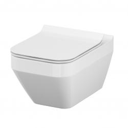 AKCE/SET/VIEGA - Eko PLUS modul do jádra WC čelní ovládání  SET CHROM + ovládací tlačítko CHROM + WC CERSANIT CREA ČTVEREC CLEANON + SEDÁTKO (V622176CR CR2), fotografie 8/10