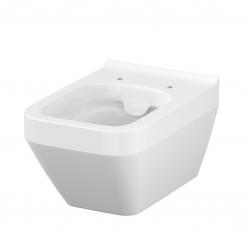 AKCE/SET/VIEGA - Eko PLUS modul do jádra WC čelní ovládání  SET CHROM + ovládací tlačítko CHROM + WC CERSANIT CREA ČTVEREC CLEANON + SEDÁTKO (V622176CR CR2), fotografie 6/10