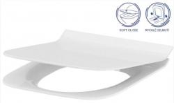 AKCE/SET/VIEGA - Eko PLUS modul do jádra WC čelní ovládání  SET CHROM + ovládací tlačítko CHROM + WC CERSANIT CREA ČTVEREC CLEANON + SEDÁTKO (V622176CR CR2), fotografie 20/10