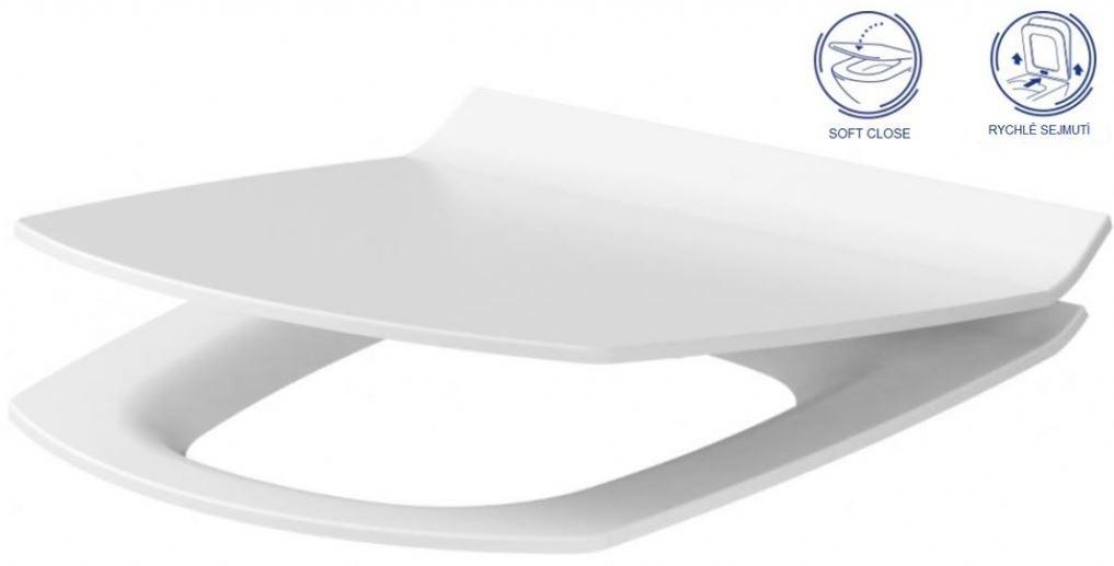AKCE/SET/GEBERIT - Duofix Sada pro závěsné WC 458.103.00.1 + tlačítko DELTA21 bílé + WC CERSANIT CARINA CLEANON + SEDÁTKO (458.103.00.1 21BI CA3), fotografie 18/9