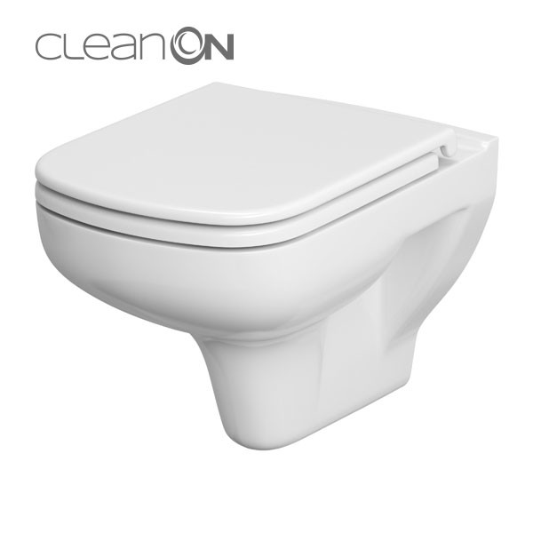 AKCE/SET/GEBERIT - Duofix Sada pro závěsné WC 458.103.00.1 + tlačítko DELTA21 bílé + WC CERSANIT COLOUR CLEANON + SEDÁTKO (458.103.00.1 21BI CN1), fotografie 6/9