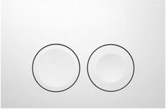 AKCE/SET/GEBERIT - Duofix Sada pro závěsné WC 458.103.00.1 + tlačítko DELTA21 bílé + WC LAUFEN PRO + SEDÁTKO (458.103.00.1 21BI LP3), fotografie 6/8