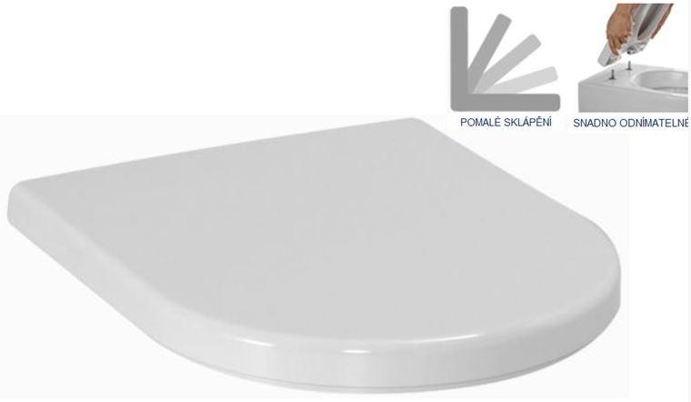 Duofix Sada pro závěsné WC 458.103.00.1 + tlačítko DELTA21 matné + WC LAUFEN PRO RIMLESS + SEDÁTKO (458.103.00.1 21MA LP1) - AKCE/SET/GEBERIT, fotografie 12/9
