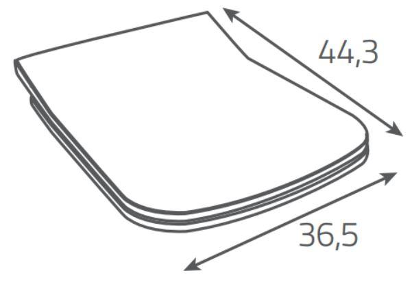 AKCE/SET/GEBERIT - Duofix Sada pro závěsné WC 458.103.00.1 + tlačítko DELTA21 matné + WC OPOCZNO METROPOLITAN CLEANON + SEDÁTKO (458.103.00.1 21MA ME1), fotografie 12/9