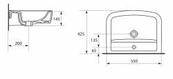 AKCE/SET/CERSANIT - Set skříňka + umyvadlo  (S910-011 + K101-010), fotografie 10/6