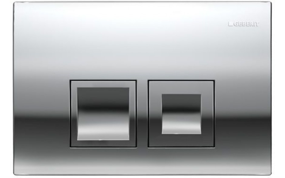 AKCE/SET/GEBERIT - Duofix Sada pro závěsné WC 458.103.00.1 + tlačítko DELTA50 CHROM + WC CERSANIT CREA ČTVEREC CLEANON + SEDÁTKO (458.103.00.1 50CR CR2), fotografie 12/9