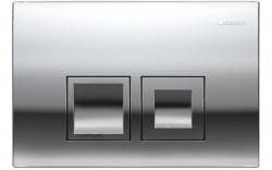 AKCE/SET/GEBERIT - Duofix Sada pro závěsné WC 458.103.00.1 + tlačítko DELTA50 CHROM + WC  LAUFEN PRO RIMLESS + SEDÁTKO (458.103.00.1 50CR LP1), fotografie 6/9