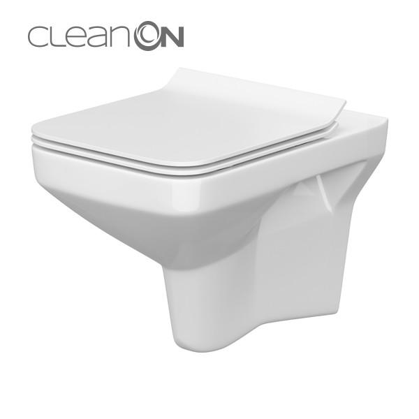 AKCE/SET/GEBERIT - Duofix Sada pro závěsné WC 458.103.00.1 + tlačítko DELTA50 bílé + WC CERSANIT COMO CLEANON + SEDÁTKO (458.103.00.1 50BI CO1), fotografie 8/8