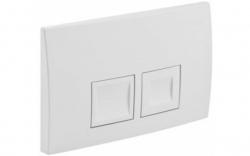 AKCE/SET/GEBERIT - Duofix Sada pro závěsné WC 458.103.00.1  + tlačítko DELTA50 bílé + WC CERSANIT CREA ČTVEREC CLEANON + SEDÁTKO (458.103.00.1 50BI CR2), fotografie 4/9
