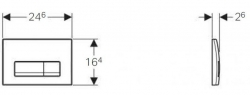 AKCE/SET/GEBERIT - GEBERIT - Duofix Sada pro závěsné WC 458.103.00.1 + tlačítko DELTA51 CHROM + WC CERSANIT MITO + SEDÁTKO (458.103.00.1 MI1), fotografie 26/13
