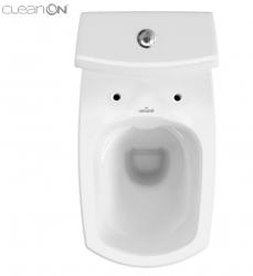 WC KOMBI 482 CARINA NEW CLEAN ON 010  3/5l + sedátko duraplast soft close (K31-044) - CERSANIT, fotografie 6/4