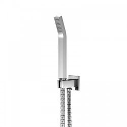 STEINBERG - Sprchová souprava, chrom (držák ruční sprchy s přívodem vody, ruční sprcha, kovová hadice) (120 1670)