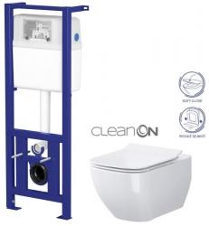 SET Nádržka LINK + WC OPOCZNO METROPOLITAN CLEANON + SEDÁTKO (K97-108 ME1) - AKCE/SET/CERSANIT