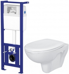 Nádržka LINK + WC PRESIDENT + SEDÁTKO (K97-108 PR1) - AKCE/SET/CERSANIT