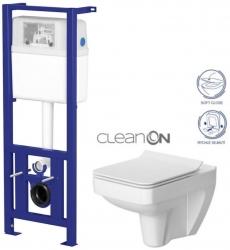 Nádržka LINK + WC SPLENDOUR CLEANON + SEDÁTKO (K97-108 SP1) - AKCE/SET/CERSANIT