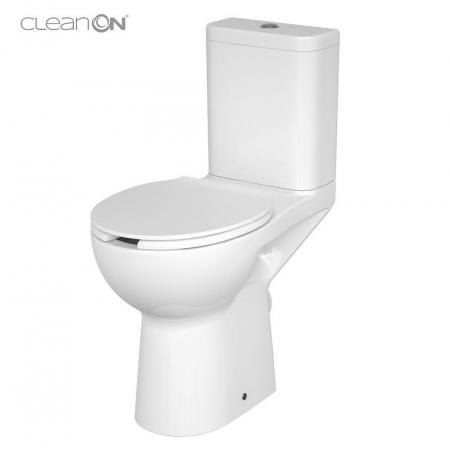 WC KOMPAKTNÍ ETIUDA NEW CLEANON 010 3 / 6L Invalidní  (K11-0221) - CERSANIT