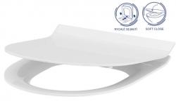 SET Duofix Sada pro závěsné WC 458.103.00.1 + tlačítko DELTA50 bílé + WC CERSANIT CREA OVÁL CLEANON + SEDÁTKO (458.103.00.1 50BI CR1) - AKCE/SET/GEBERIT, fotografie 16/9