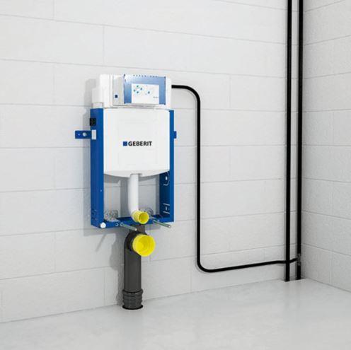 AKCE/SET/GEBERIT - Kombifix KOMBIFIX ECO pro závěsné WC, nádržka UP 320 bez Ovládací desky + WC CERSANIT MITO + SEDÁTKO (110.302.00.5 MI1), fotografie 32/16
