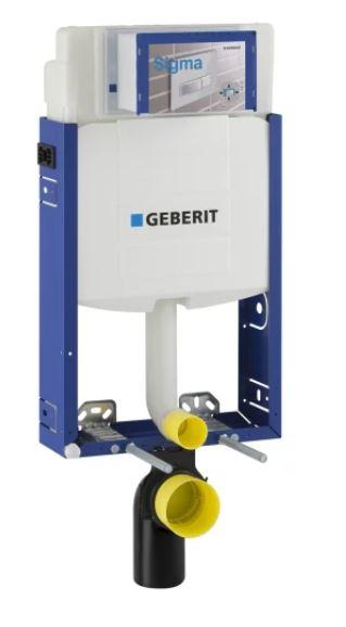 AKCE/SET/GEBERIT - Kombifix KOMBIFIX ECO pro závěsné WC, nádržka UP 320 bez Ovládací desky + WC CERSANIT PRESIDENT + SEDÁTKO (110.302.00.5 PR1), fotografie 2/7