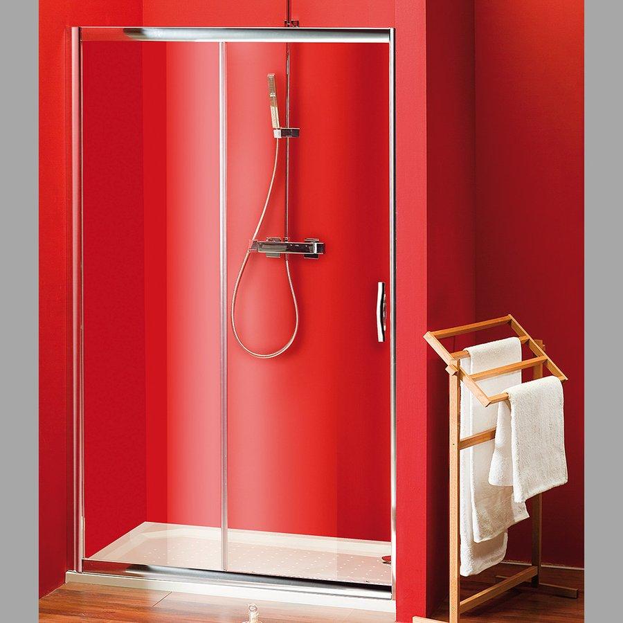 VÝPRODEJ - SIGMA sprchové dveře posuvné 1100 mm, čiré sklo (SG1241VYP)