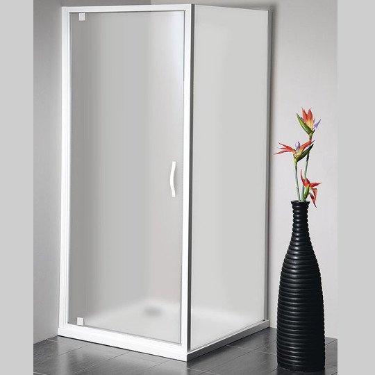 VÝPRODEJ - Eterno obdélníkový sprchový kout 800x900mm L/P varianta, sklo Brick (GE7680GE4390VYP)