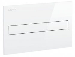 AKCE/SET/LAUFEN - Rámový podomítkový modul CW1  SET BÍLÁ + ovládací tlačítko BÍLÉ + WC OPOCZNO METROPOLITAN CLEANON + SEDÁTKO (H8946600000001BI ME1), fotografie 16/9