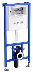 LAUFEN Rámový podomítkový modul CW1 SET s chromovým tlačítkem + WC CERSANIT ZEN CLEANON + SEDÁTKO (H8946600000001CR HA1), fotografie 6/9