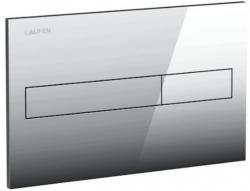 LAUFEN Rámový podomítkový modul CW1 SET s chromovým tlačítkem + WC CERSANIT ZEN CLEANON + SEDÁTKO (H8946600000001CR HA1), fotografie 16/9