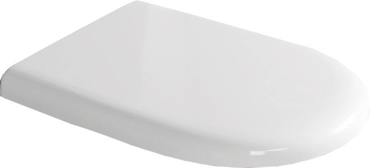 KERASAN - AQUATECH WC sedátko Soft Close, termoplast, bílá/chrom (378801)