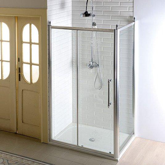 GELCO - Antique obdélníkový sprchový kout 1400x1000mm L/P varianta, chrom (GQ4514GQ5110)
