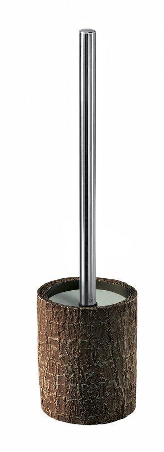 AURIGA WC štětka na postavení, hnědá (AG3330) Gedy