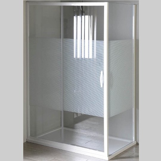 GELCO - Eterno obdélníkový sprchový kout 1200x800mm L/P varianta, sklo Strip (GE6912GE3380)