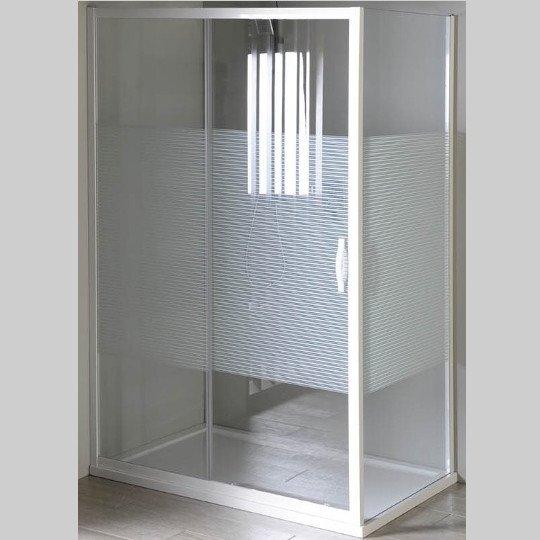 GELCO - Eterno obdélníkový sprchový kout 800x900mm L/P varianta, sklo Strip (GE6680GE3390)