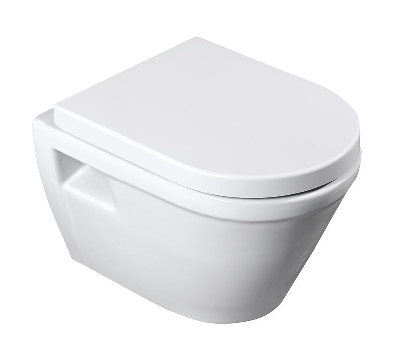 AQUALINE - IDEA WC závěsné 35,5x52cm (71125363)