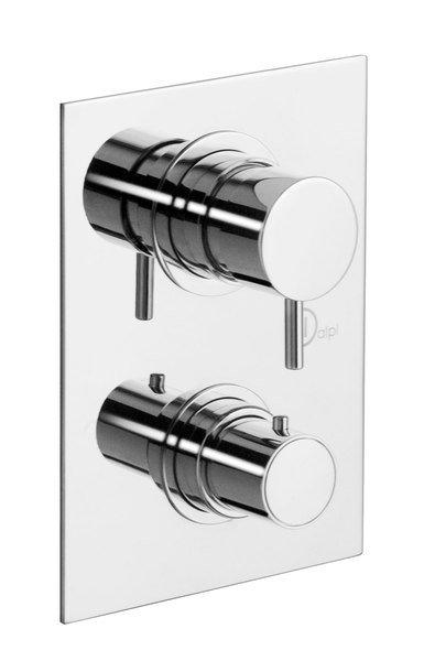 ALPI GO-NU podomítková sprchová termostatická baterie, 3 výstupy, chrom NU55169
