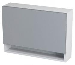 SAPHO - KLÁRA galerka s policí 70x51x18cm, bílá (56316)