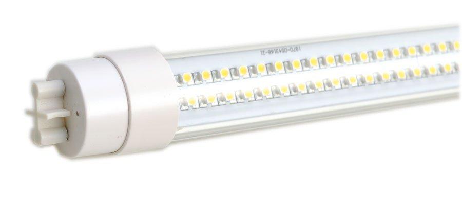 Fotografie LED trubice 14W, 230V, 900mm, T8, denní bílá, čiré sklo, 1070lm