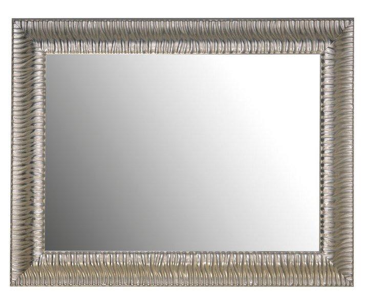 MANDRE zrcadlo v rámu, 870x670mm, stříbrný masívní (NL533) SAPHO