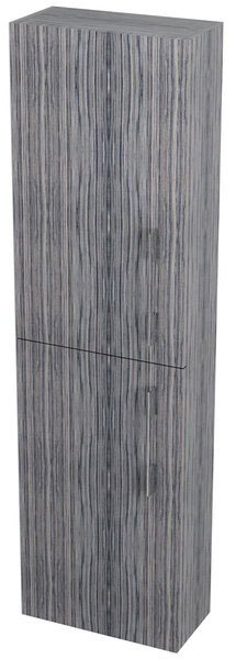SAPHO - NATY skříňka vysoká 40x140x20cm, levá/pravá, zebráno (53042LP)
