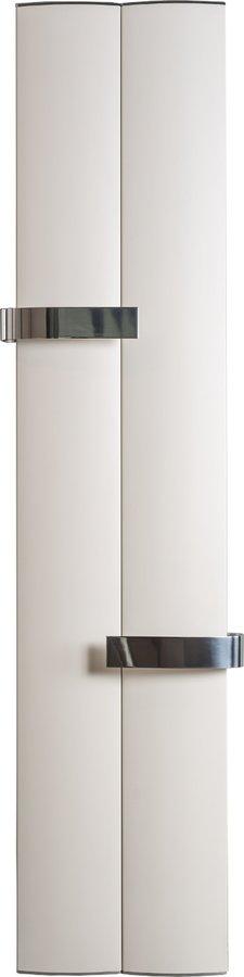 RIDEA - OTHELLO TWIN otopné těleso 460x1890 mm, 2 držáky ručníků otevřené, bílá matná (2221189046SB)