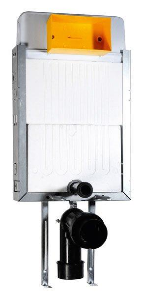 AQUALINE - Podomítková nádržka, hloubka 120 mm (5413-02) (52TD0103E)